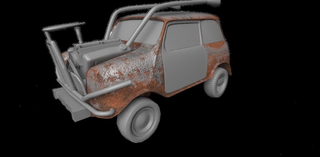Some Vehicle Design Render png