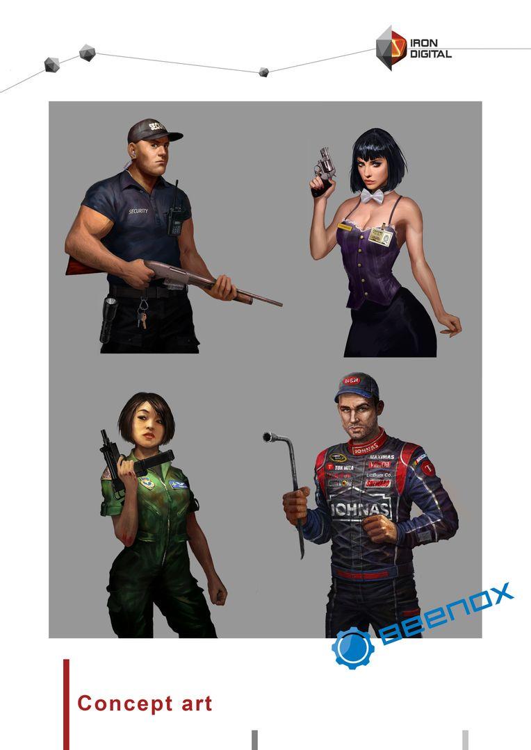 Character Concept Art IronDigital portfolio 2014 7 jpg