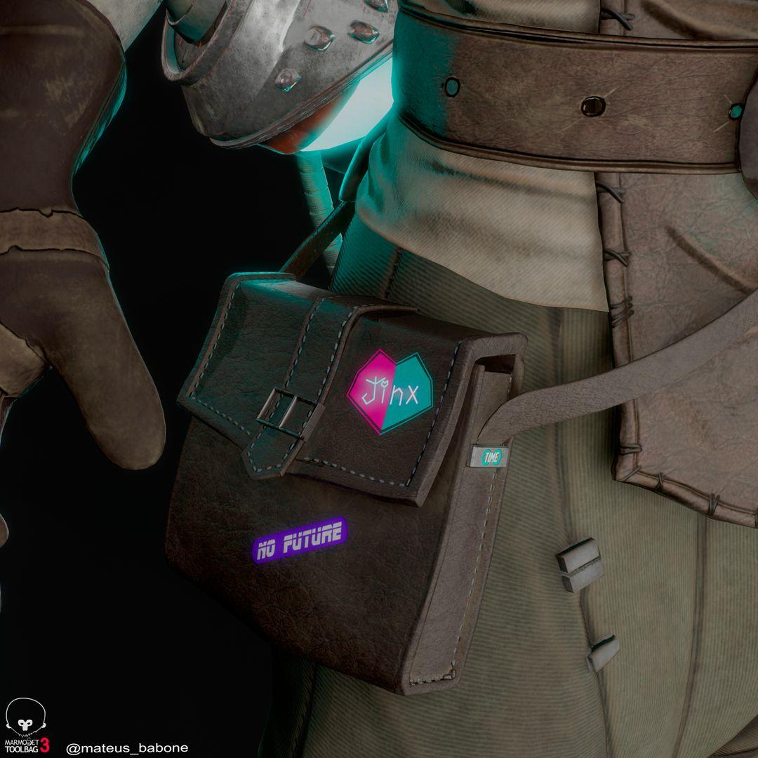 Ekko Realtime Fan Art detalhes1 jpg