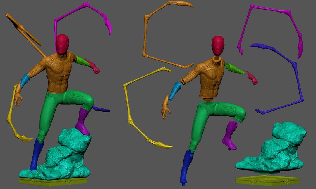 Iron Spider Collectibles Fan Art mateus babone cortescolor jpg