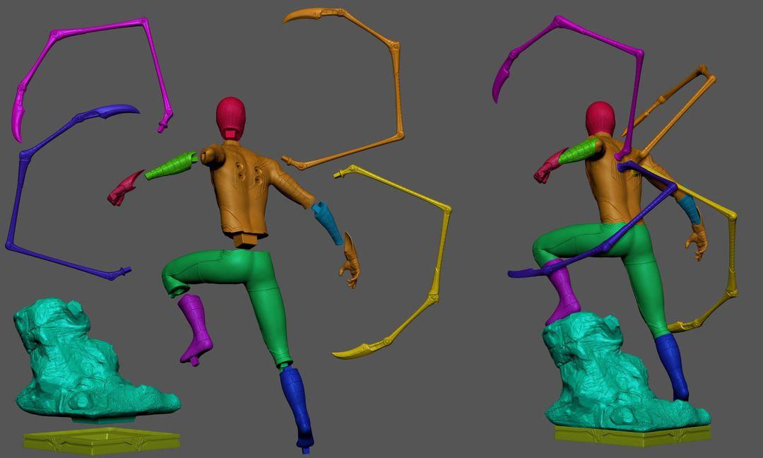 Iron Spider Collectibles Fan Art mateus babone cortescolor2 jpg