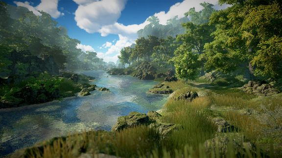 River Environment in Unity