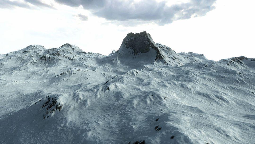 Procedural Winter Mountains in Unity Procedural Winter Mountains 02 jpg