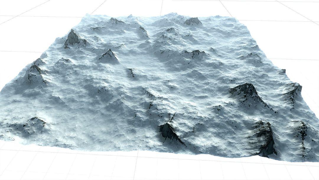 Procedural Winter Mountains in Unity Procedural Winter Mountains 03 jpg