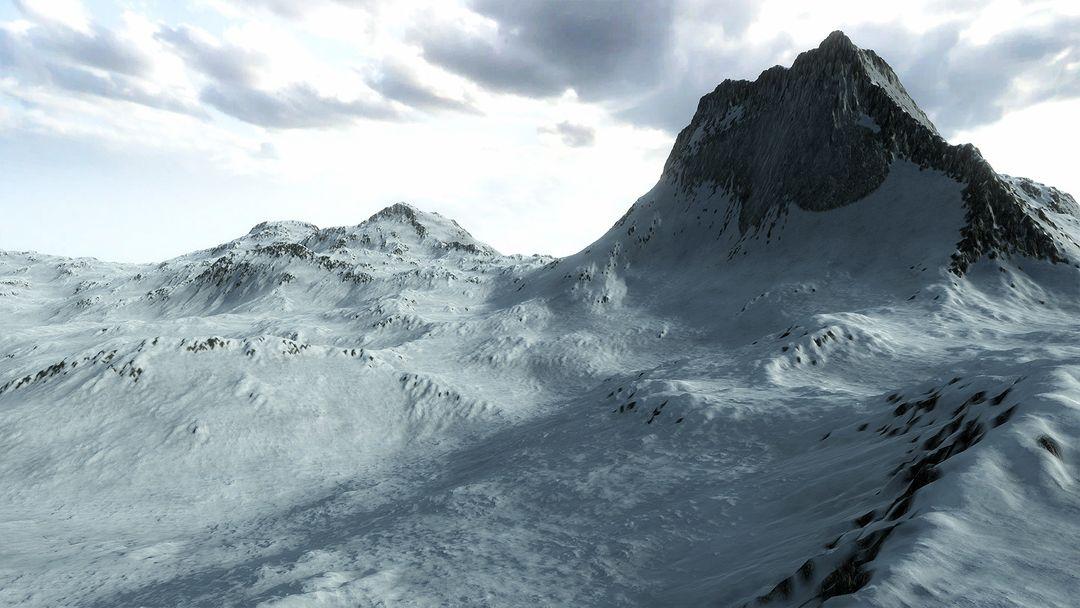 Procedural Winter Mountains in Unity Procedural Winter Mountains 04 jpg