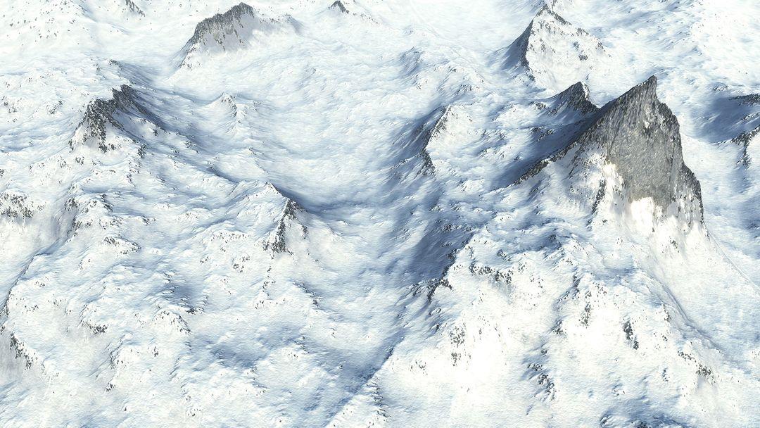 Procedural Winter Mountains in Unity Procedural Winter Mountains 05 jpg