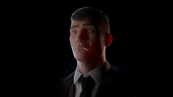 Every man's demon - FanArt Thomas Shelby
