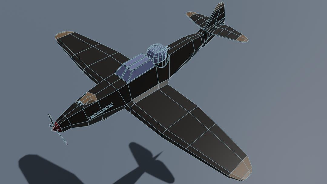 WW2 Air Planes Defiant MKi 2 png
