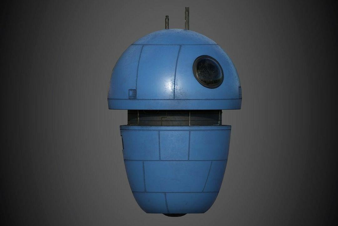 Robot Character Prop Sci-Fi #3 emanuele gianni nuovo 1 jpg