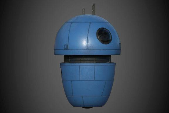 Robot Character Prop Sci-Fi #3