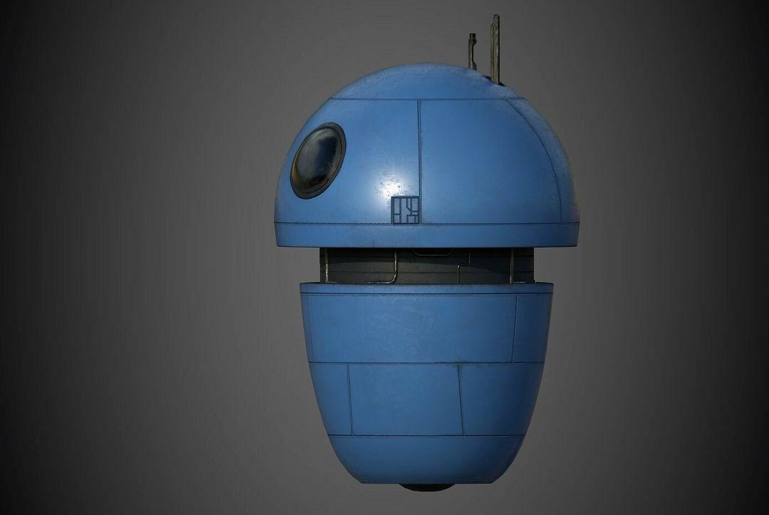 Robot Character Prop Sci-Fi #3 emanuele gianni nuovo 2 jpg