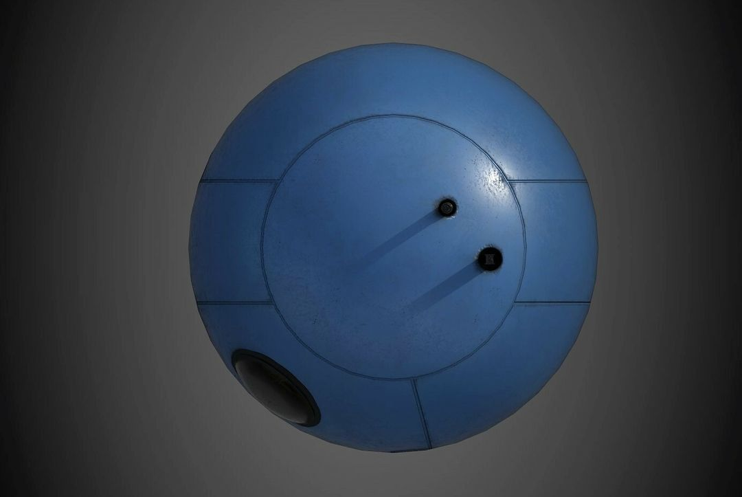 Robot Character Prop Sci-Fi #3 emanuele gianni nuovo 6 jpg