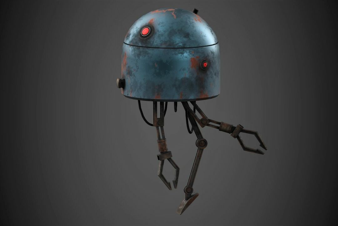 Robot Character Prop Sci-Fi #2 emanuele gianni 1 n jpg