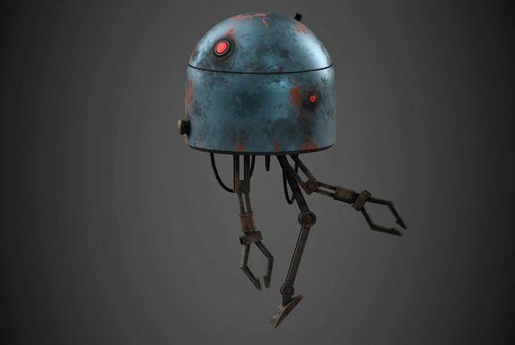 Robot Character Prop Sci-Fi #2
