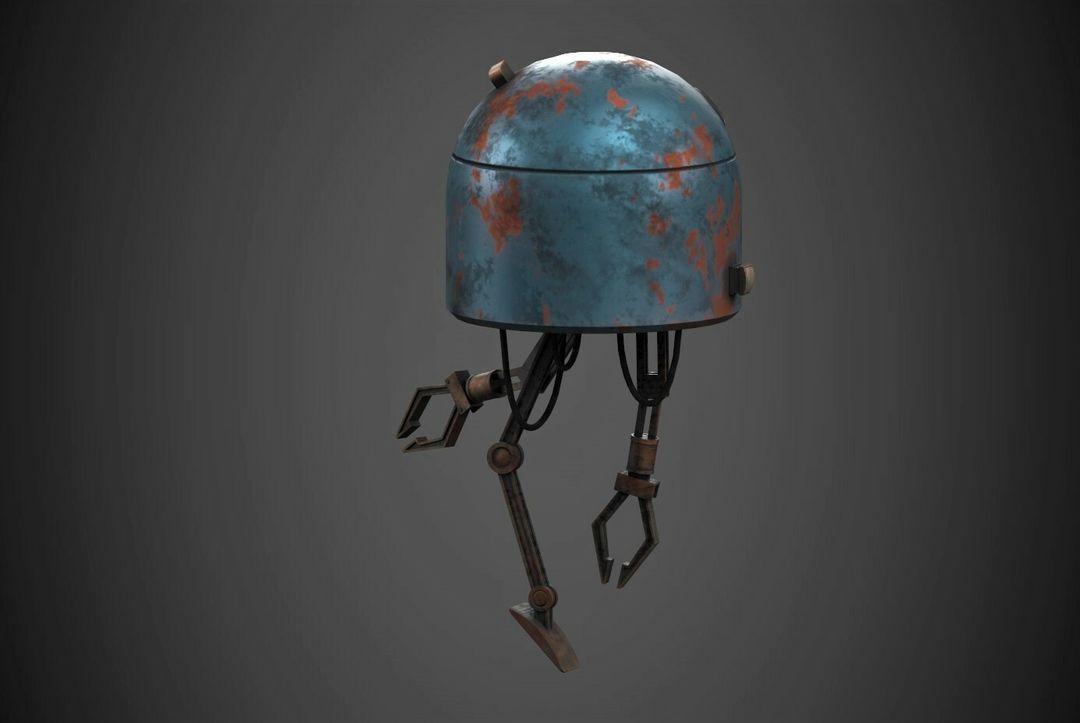 Robot Character Prop Sci-Fi #2 emanuele gianni 2 n jpg