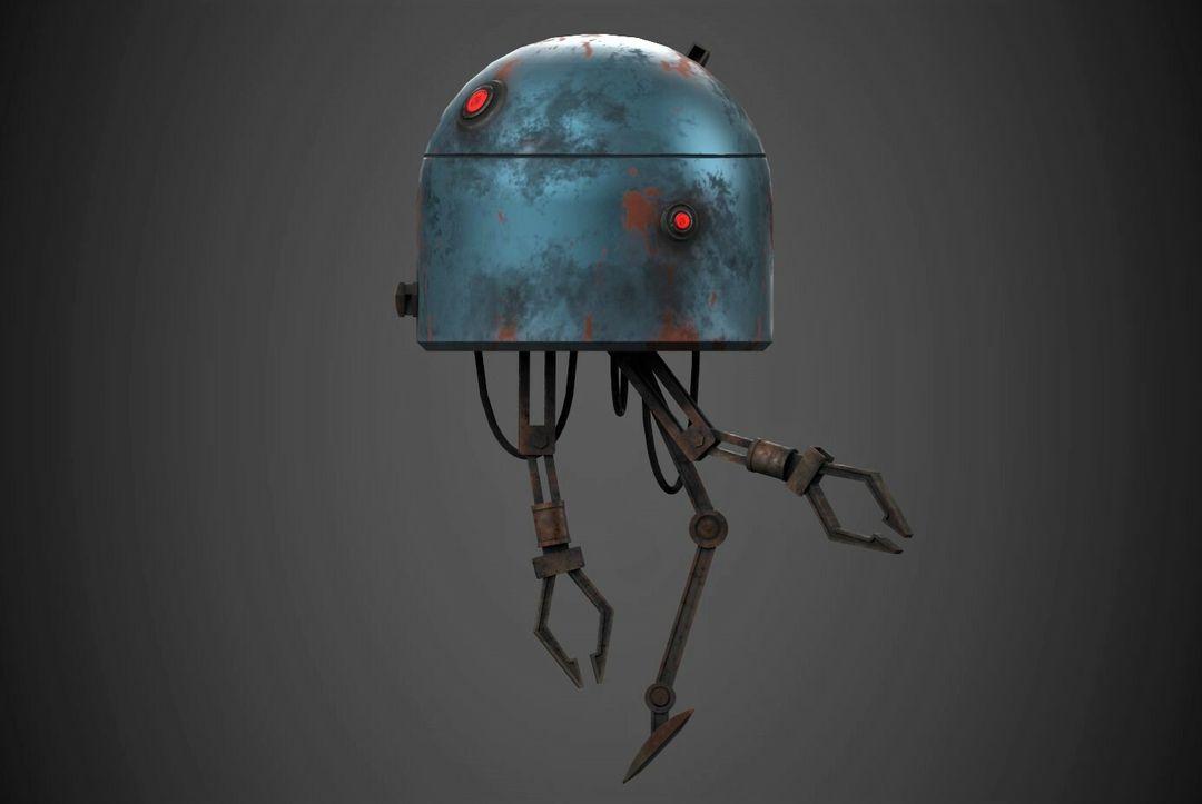 Robot Character Prop Sci-Fi #2 emanuele gianni 5 n jpg