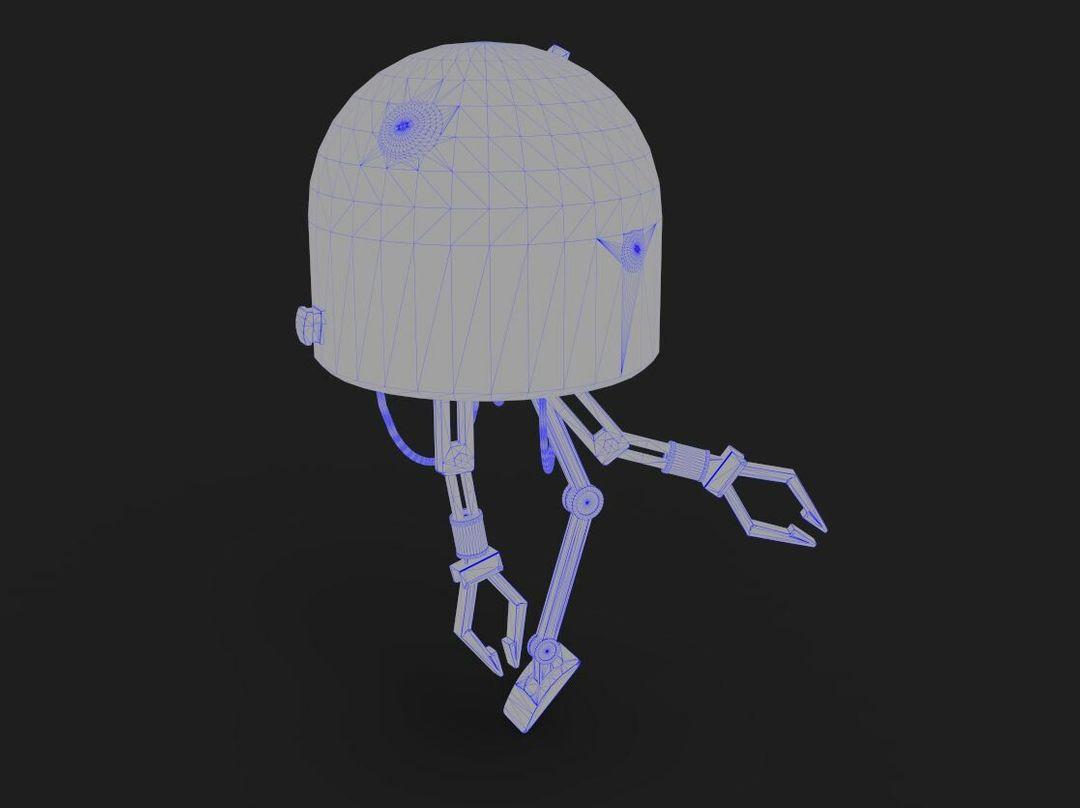 Robot Character Prop Sci-Fi #2 emanuele gianni wir 1 jpg