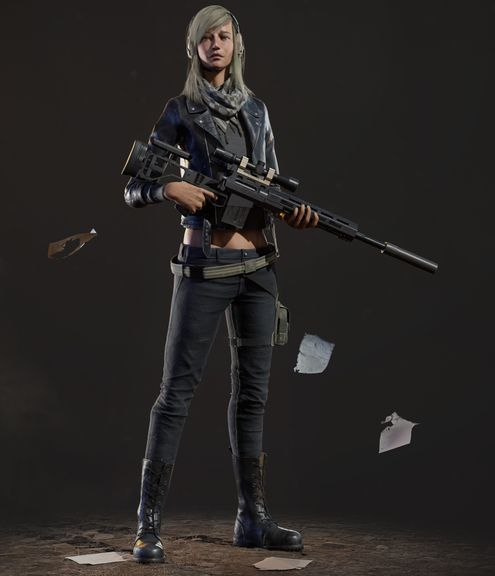 Female Rebel Charatcer