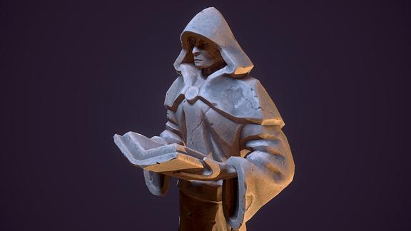The Scholar Statue