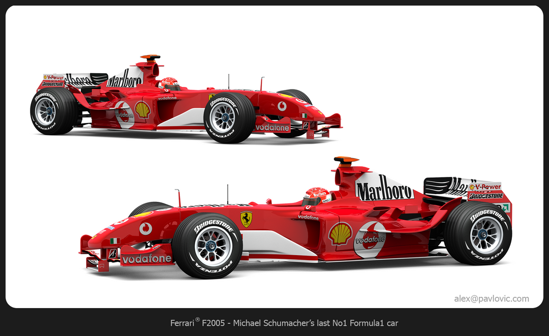 M. Schumacher's F2005 F2005 01 png