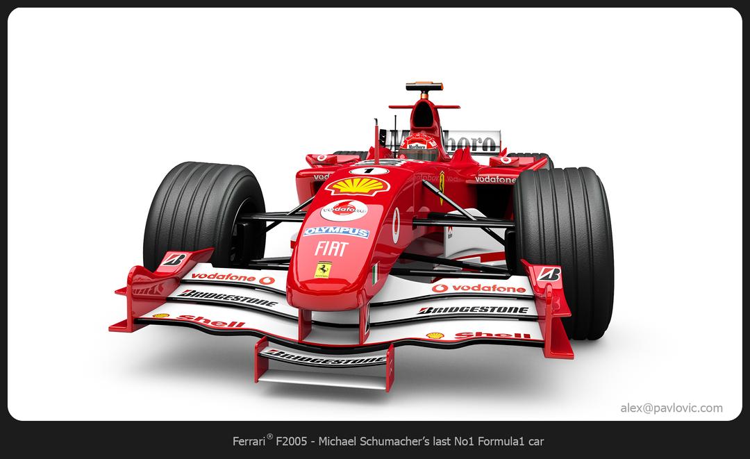 M. Schumacher's F2005 F2005 02 png