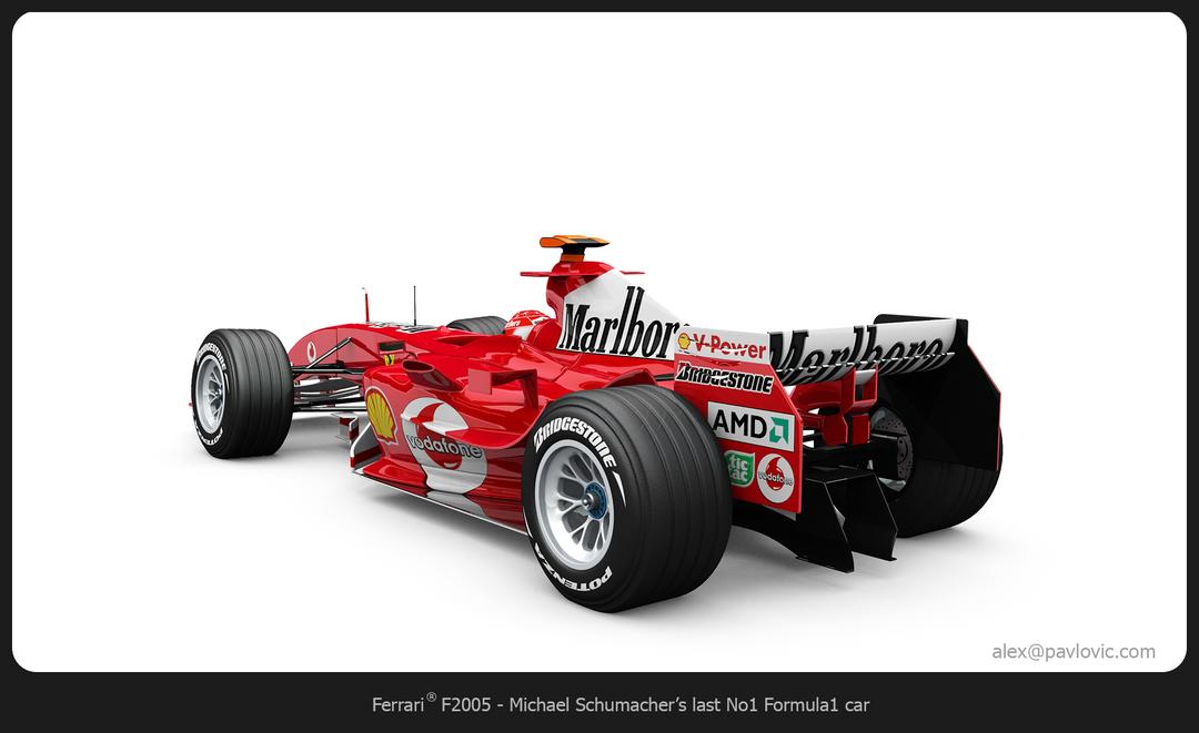 M. Schumacher's F2005 F2005 03 png