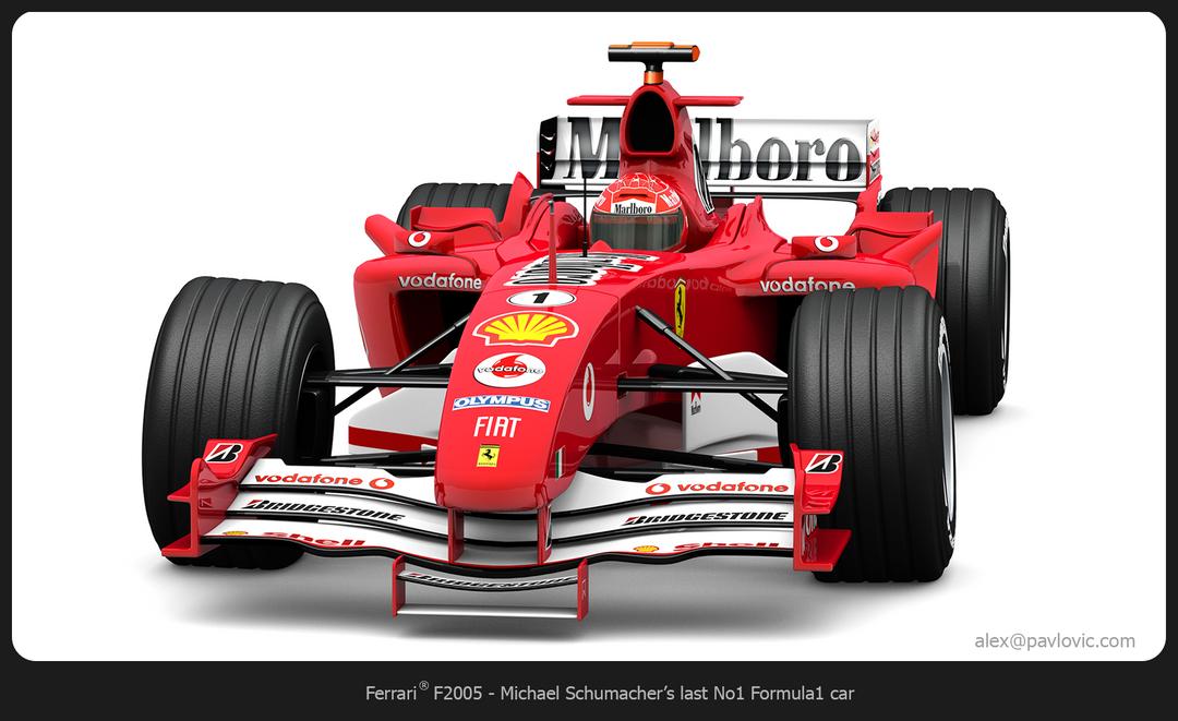 M. Schumacher's F2005 F2005 04 png
