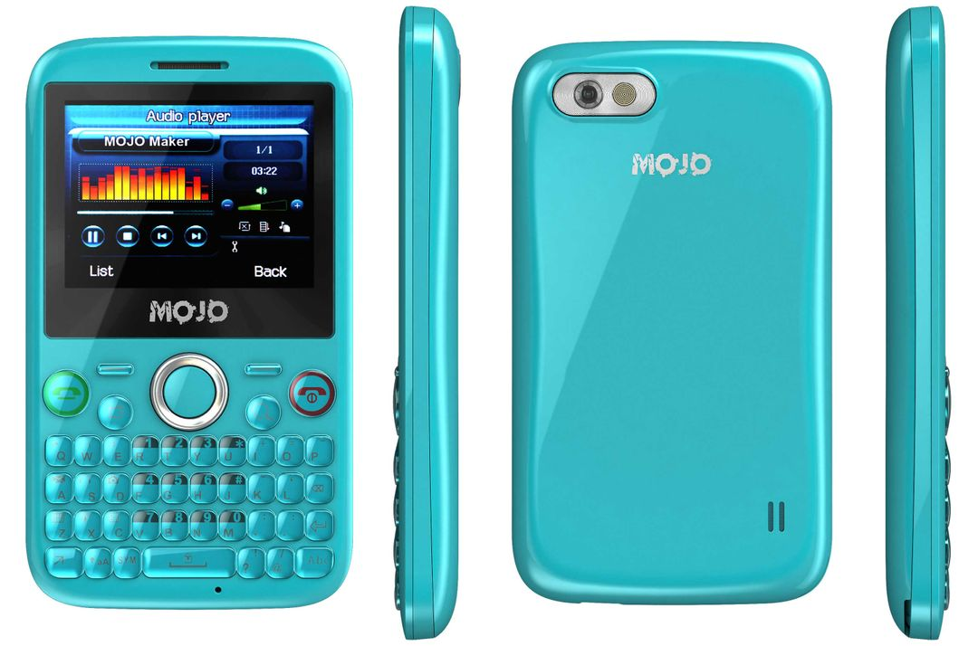 Mobile phone animation Turquoise 2k jpg
