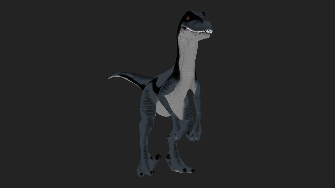 Velociraptor COLOUR0001 png