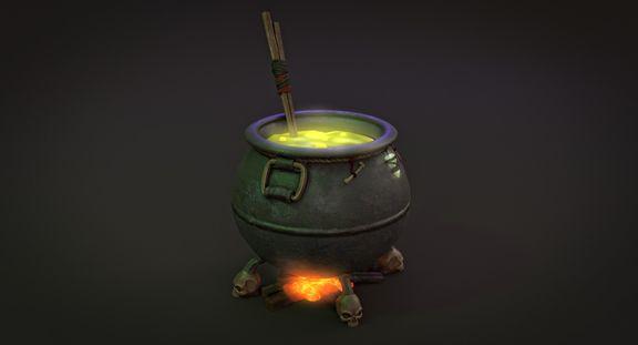 witche's cauldron