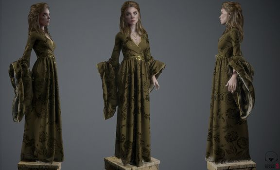 Margaery Tyrell inspired fan art