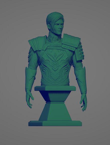 3d printing Farren Bust