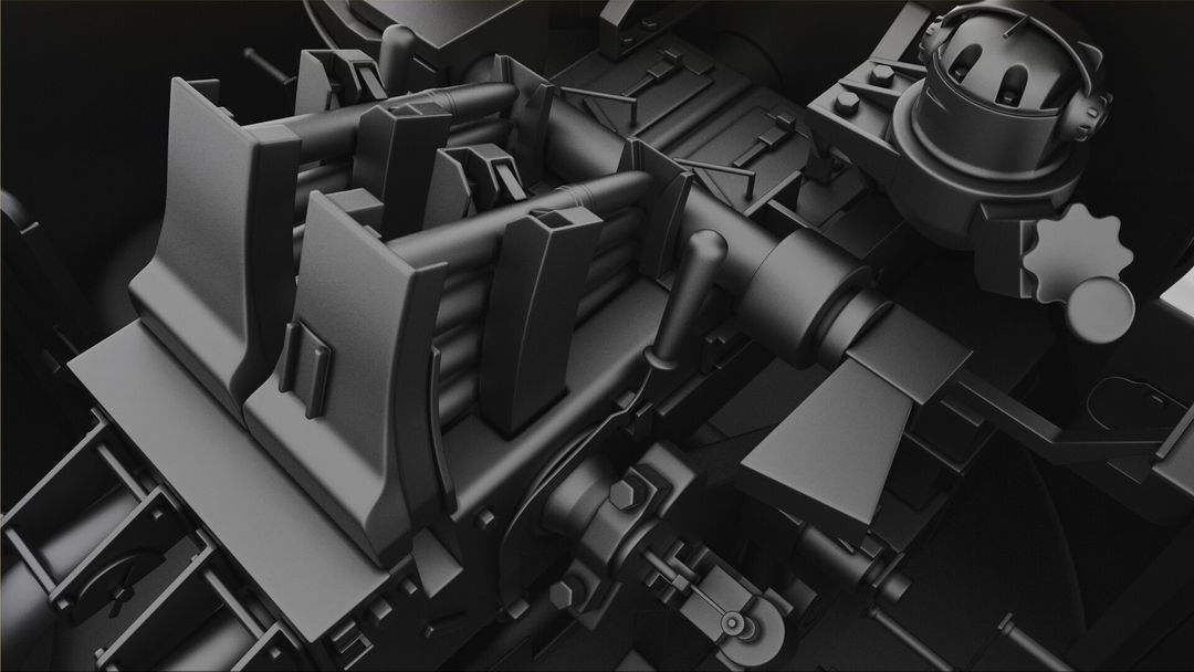 M42 Duster 40mm Self-Propelled Anti-Aircraft Gun - Highpoly irfan haider render 13 m42 duster irfanhaider art3d7 jpg