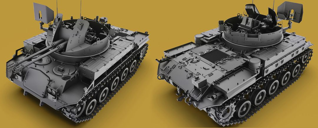 M42 Duster 40mm Self-Propelled Anti-Aircraft Gun - Highpoly irfan haider render 17 m42 duster irfanhaider art3d7 jpg