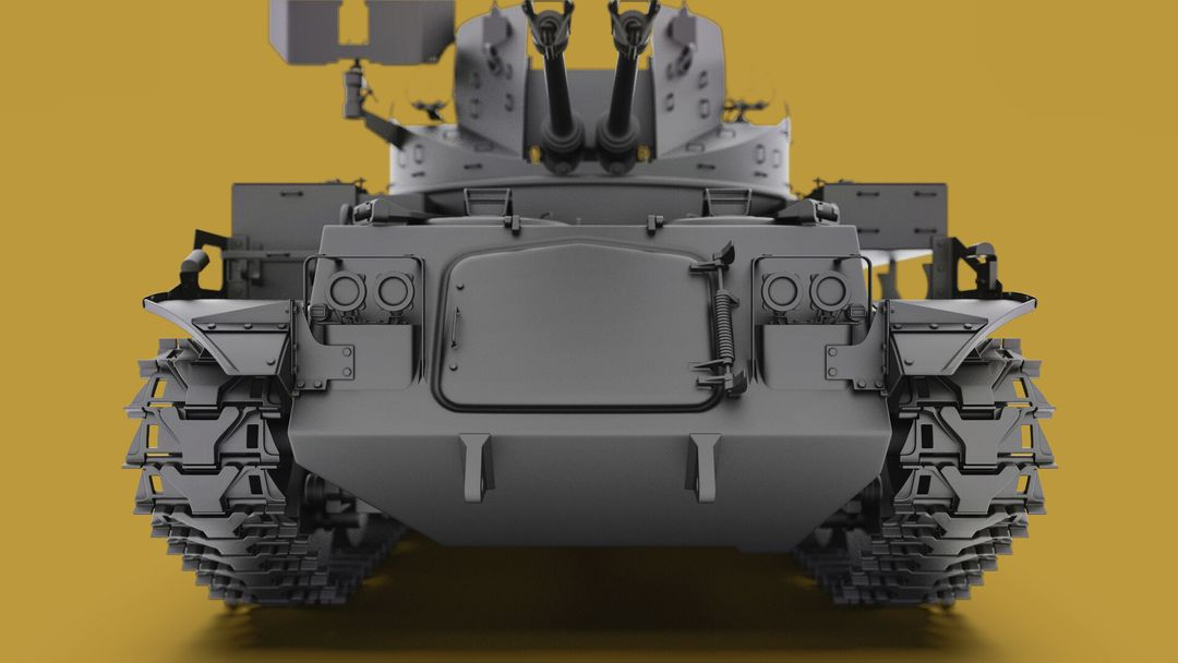 M42 Duster 40mm Self-Propelled Anti-Aircraft Gun - Highpoly irfan haider render 2 m42 duster irfanhaider art3d7 jpg