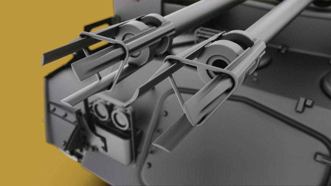 M42 Duster 40mm Self-Propelled Anti-Aircraft Gun - Highpoly irfan haider render 5 m42 duster irfanhaider art3d7 jpg