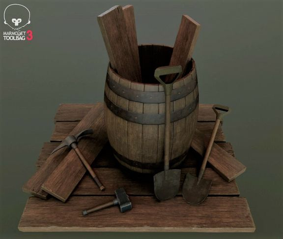 Barrel and Tools