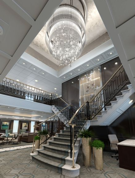 Luxury Interior Hall - UE4 Project