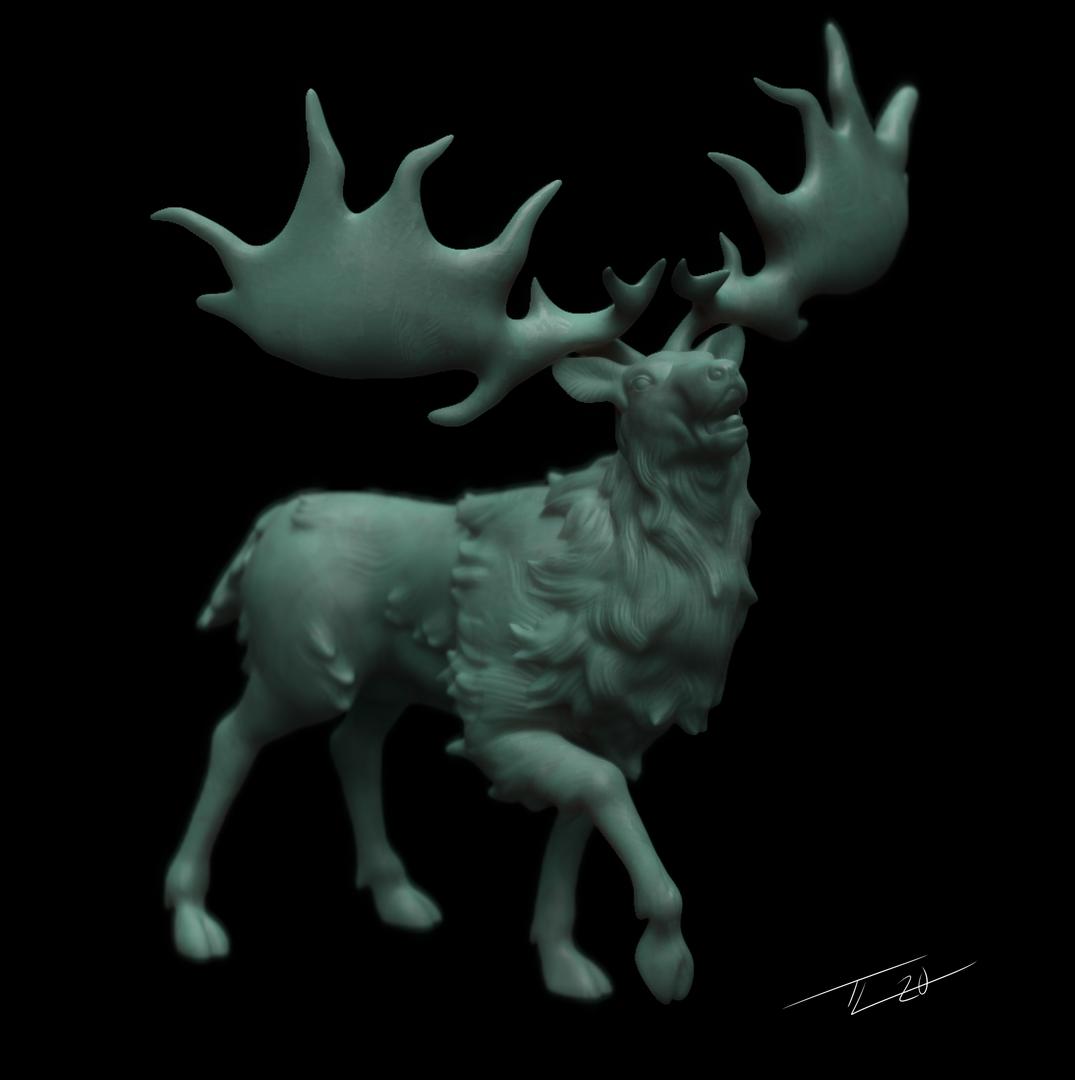 Irish Elk Mini IrishElkMain png