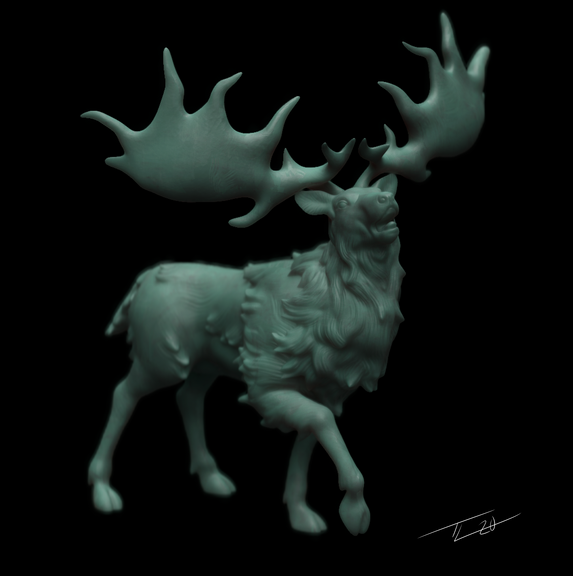 Irish Elk Mini