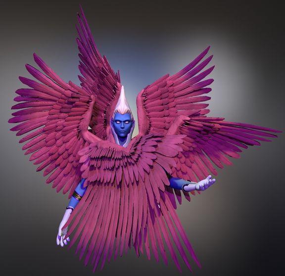Archangel Aniel,   Shin Megami Tensei Fan Art