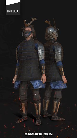 Influx Studio Samurai Character