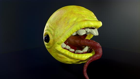 Creepy Pacman