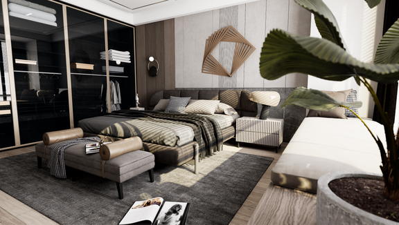 BEDROOM UE4.26