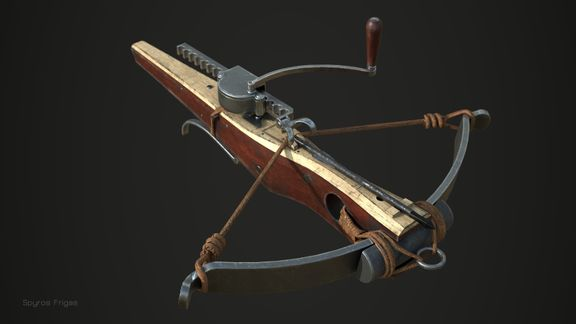 Cranequin Crossbow