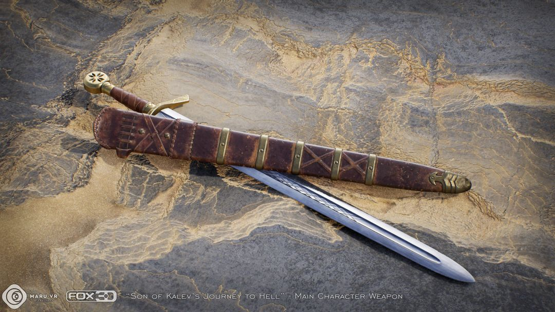 Sword of Kalev's son Kalevs Sword 02 jpg