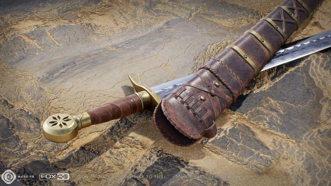 Sword of Kalev's son Kalevs Sword 03 jpg