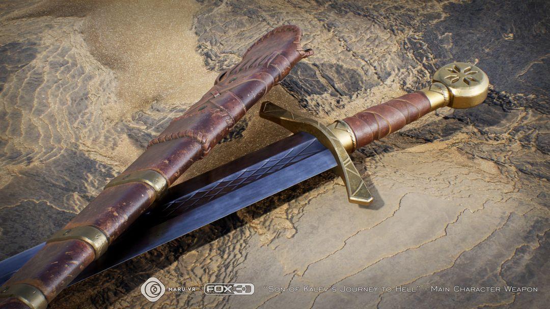 Sword of Kalev's son Kalevs Sword 05 jpg