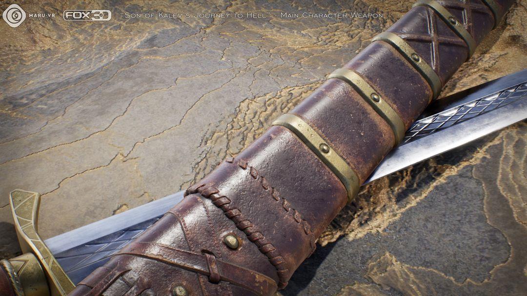 Sword of Kalev's son Kalevs Sword 06 jpg