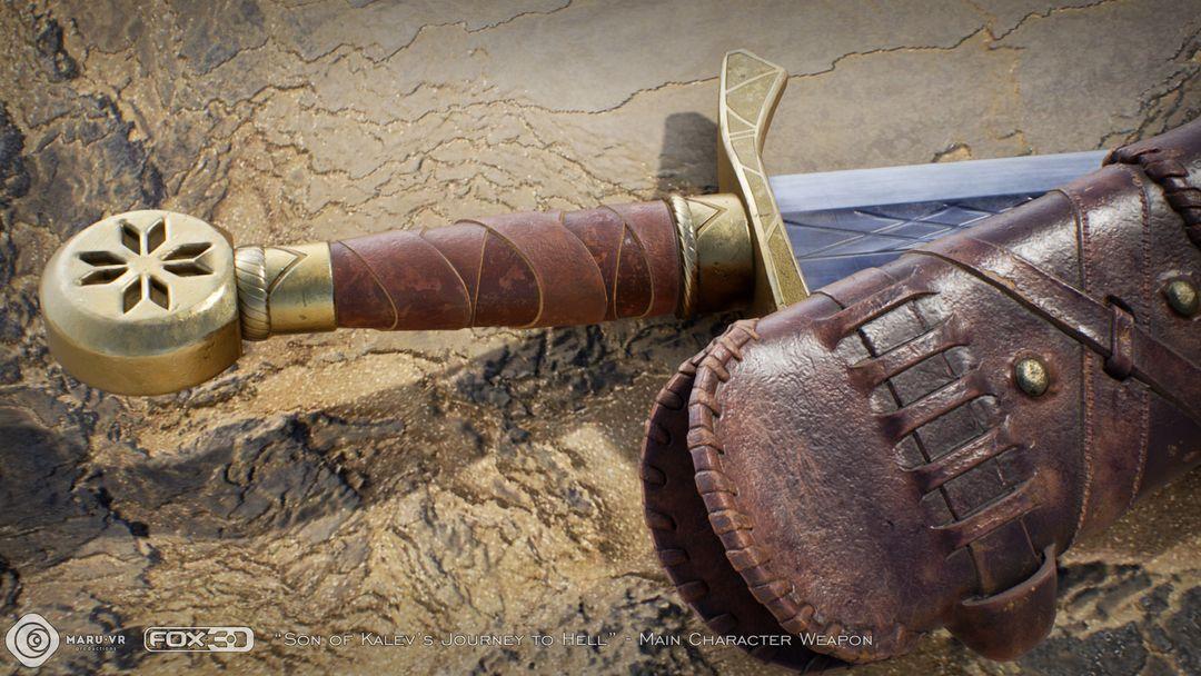 Sword of Kalev's son Kalevs Sword 07 jpg